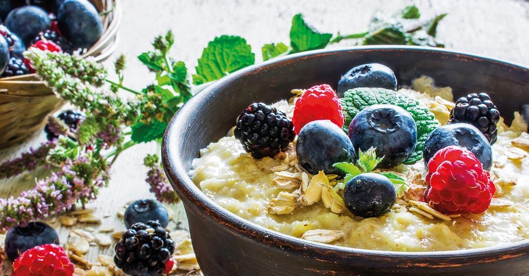Zioła i dieta  jako prebiotyki